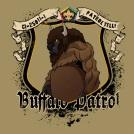 SP3720 buffalo wood badge patrol custom t-shirt