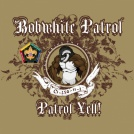 Bobwhite cartoon wood badge patrol yell custom t-shirt design SP3723
