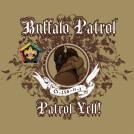 SP3727 buffalo wood badge patrol custom t-shirt design