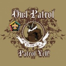 Wood badge owl patrol custom t-shirt design SP3728