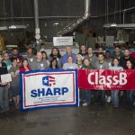 ClassB receives SHARP award from OSHA!