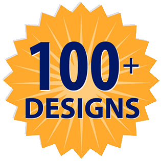 Choose From 100 Designs