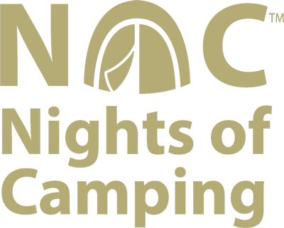 NOC nights of camping logo