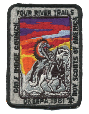 okeepa Boy scout event patch
