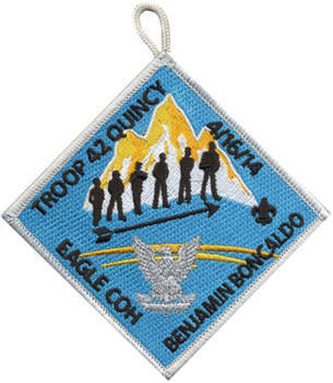 boy scout court of honor patch