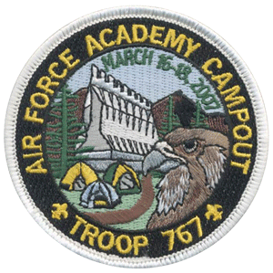 custom boy scout trip to colorado patch
