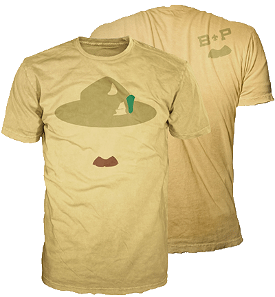 Mustache Shirt BSA Graphic Tee