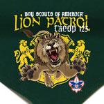 custom printed boy scout patrol neckerchief