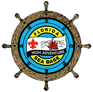 florida sea base logo gear for boy scout troops