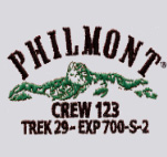 Custom Philmont tooth of time embroidery designs