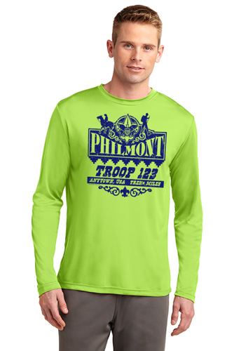 Wicking Performance Philmont long sleeve shirt