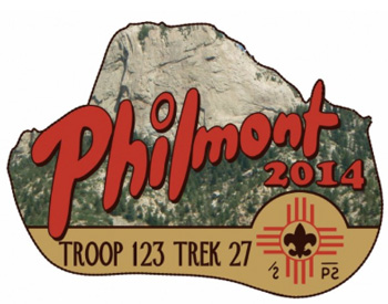 Philmont tooth of time custom embroidered patch idea PA4635