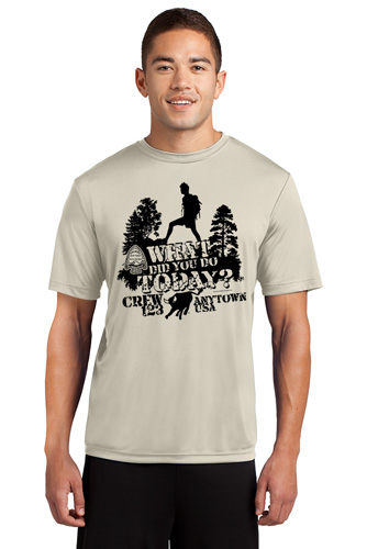 Custom wicking Performance Philmont T-shirt