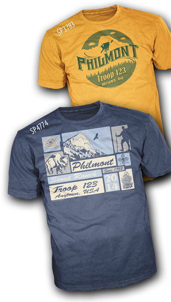 Philmont custom t-shirts for philmont treks
