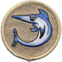 swordfish boy scout patrol patch