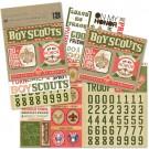 boy scout flip pack stickers