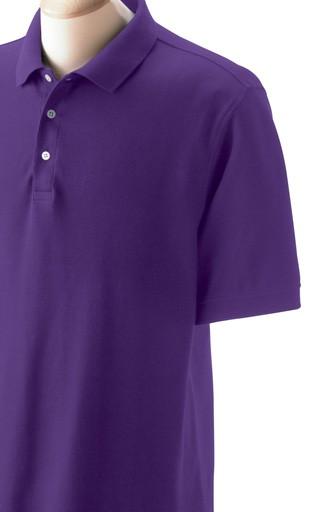 100% cotton polo short sleeve