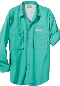 B428 boy scout troop fishing shirt