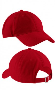 twill floppy ball cap