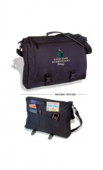 cub master embroidered Cordura Briefcase