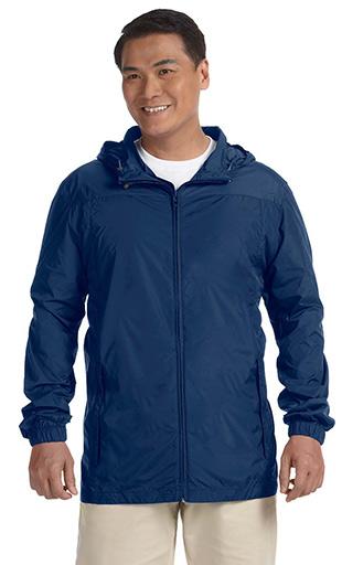 boy scout Nylon Rainwear Hooded troop Jacket