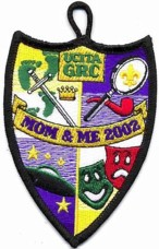 Mom and Me Custom Cub Scout Patch