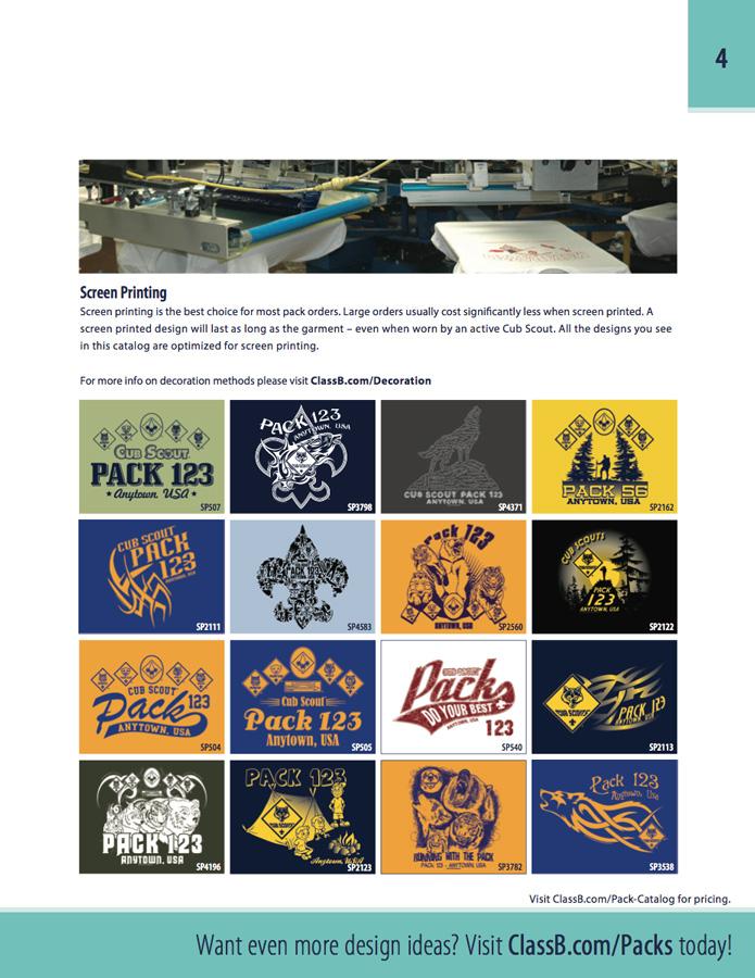 deb2aeb2a custom screen printing vs digital print one color cub scout pack stock  designs