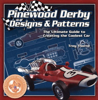 cub scout pinewood derby design specs book