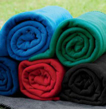Polyester Fleece Blanket for cub scout outings