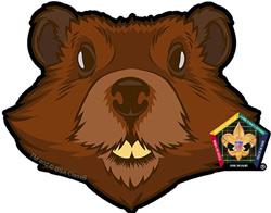 "wood badge beaver car window sticker"" /></a></p> <p><a href="