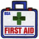 first aid boy scout patch