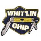 whittlin chip knife boy scout patch