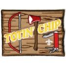 totin' chip BSA Patch
