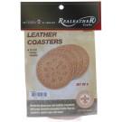 leathercraft kit coaster
