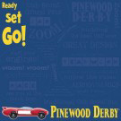 pinewood derby ready set go cub scout scrapbooking paper and sheets