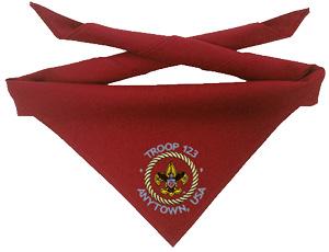 cub scout pack neckerchiefs
