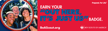 join boy scouts recruitment banner