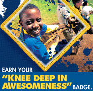 Wearing cub scout t-shirts can be used to recruit kids to join cub scouts