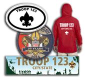 Custom Boy Scout Troop Gear