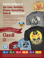 classb boy scout troop ad in scouting magazine