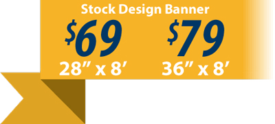 Custom vinyl Banners for boy scout troops and cub scout packs as low as $69.