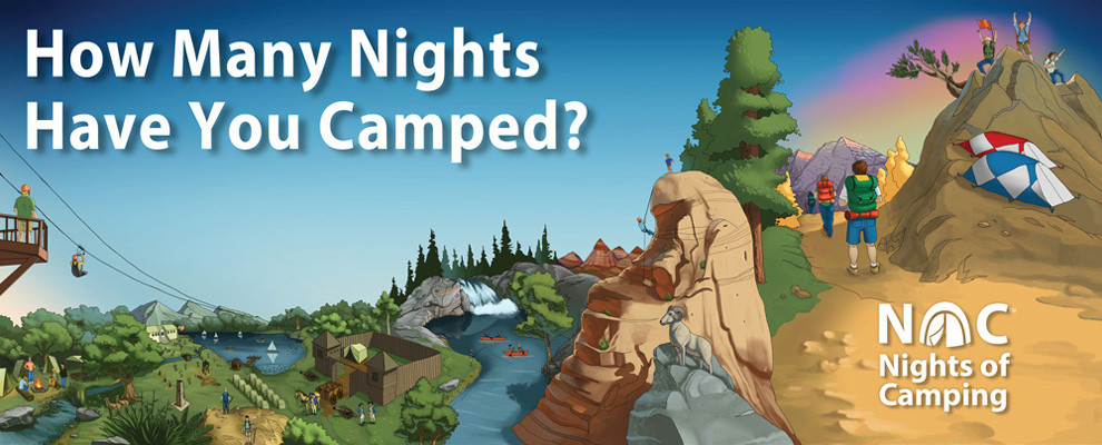 nights of camping poster