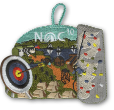 NOC 10 Nights of camping patch