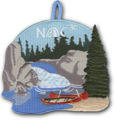 NOC 30 Nights of camping patch