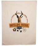 wood badge course antelope patrol flag