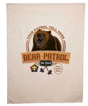 wood badge bear patrol flag