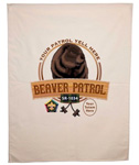 wood badge beaver patrol flag