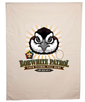 wood badge bobwhite critter head patrol flag