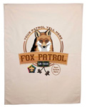 wood badge fox patrol flag