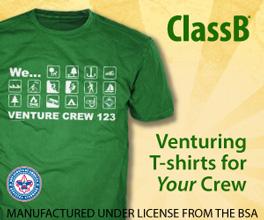Custom venture crew t-shirts